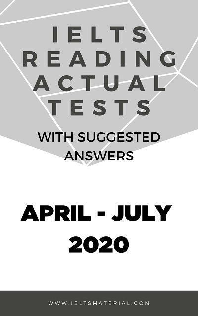 IELTS READING ACTUAL TESTS (1)