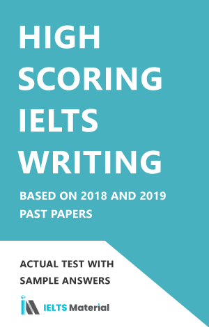 High Scoring Academic IELTS Writing based on past papers 2018 and 2019 (Academic)