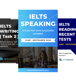 IELTS Combo June – September 2020 (Speaking+Reading+ Writing Task 2)