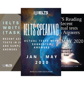 IELTS Combo Jan- May 2020 (Speaking+Reading+ Writing Task 2)