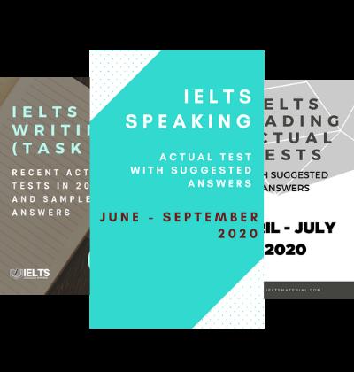 IELTS Combo June – September 2020 (Speaking+Reading+ Writing Task 2)