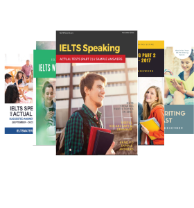 Ebook Combo (3 IELTS Speaking + 2 IELTS Writing) (Academic)