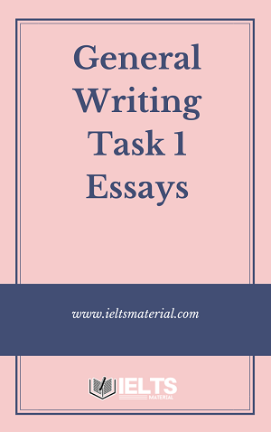General Writing Task 1 Essays 2020
