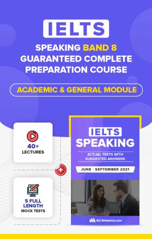 Comprehensive IELTS Speaking Band 8 Preparation Course