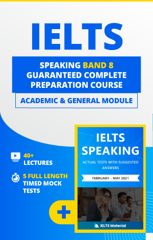 Comprehensive IELTS Speaking Band 8 Preparation Course