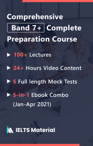 Comprehensive Band 7+ Complete Preparation Course + 5 in 1 Academic Ebook Combo