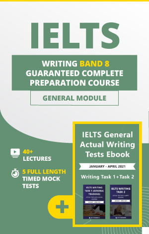 Comprehensive IELTS Writing (General) Band 8 Preparation Course