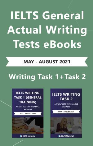 IELTS General writing task 1 + Writing task 2
