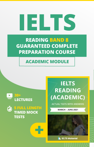 Comprehensive IELTS Reading (Academic) Band 8 Preparation Course