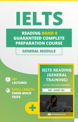 Comprehensive IELTS Reading (General) Band 8 Preparation Course