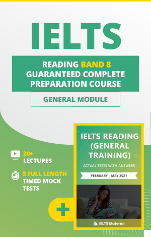 Comprehensive IELTS Reading (General) Band 8 Preparation Course