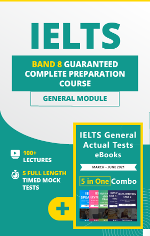 Comprehensive IELTS General Band 8 Preparation Course + 5 in 1 General eBook Combo