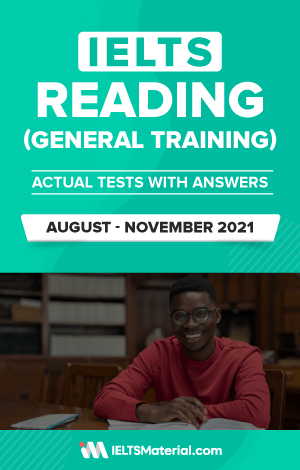 IELTS General reading ebook